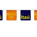 Bandeirolas Itaú