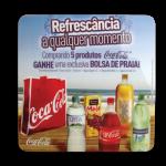 Placa de Carrinho Coca-Cola
