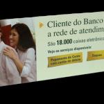 Regua de Gondola Banco Real