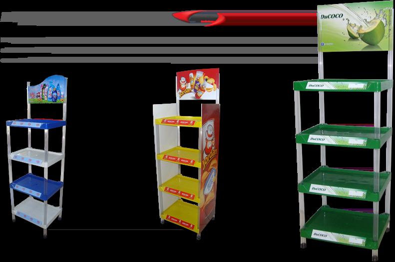 Display / Expositor de Plastico Injetado