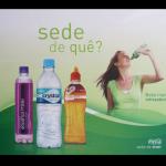 Placa PS Coca-Cola