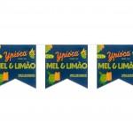 Bandeirola plástica Ipióca Mel e limão